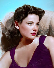 Gene Tierney Dreamy View 1940 | Hollywood Pinups | Film Star Colour and B&W Prints