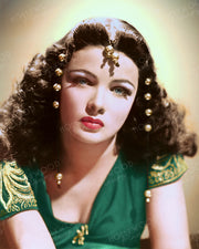 Gene Tierney SUNDOWN 1941 | Hollywood Pinups | Film Star Colour and B&W Prints