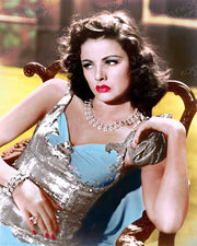 Gene Tierney THE SHANGHAI GESTURE 1941 | Hollywood Pinups | Film Star Colour and B&W Prints