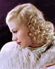 Ginger Rogers Dazzling Profile 1935 | Hollywood Pinups | Film Star Colour and B&W Prints