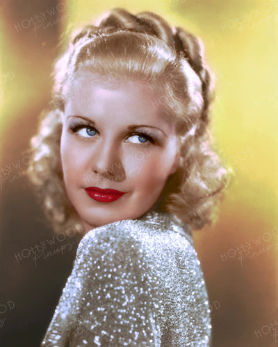 Ginger Rogers IN PERSON 1935 | Hollywood Pinups | Film Star Colour and B&W Prints