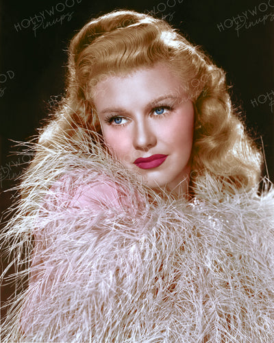 Ginger Rogers WEEKEND AT THE WALDORF 1945 | Hollywood Pinups | Film Star Colour and B&W Prints