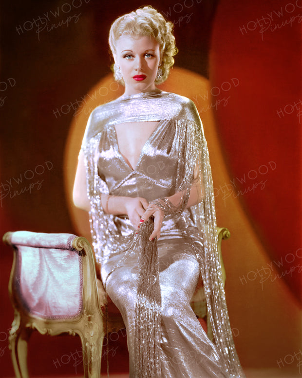 Ginger Rogers in ROBERTA 1935 | Hollywood Pinups | Film Star Colour and B&W Prints