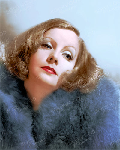 Greta Garbo Blue Fox 1931 | Hollywood Pinups | Film Star Colour and B&W Prints