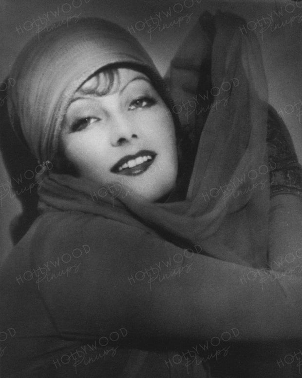 Greta Garbo Exotic Veils THE TEMPTRESS 1926 | Hollywood Pinups | Film Star Colour and B&W Prints