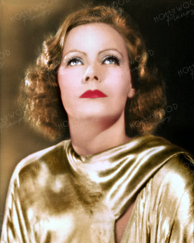 Greta Garbo in THE MYSTERIOUS LADY 1929 | Hollywood Pinups | Film Star Colour and B&W Prints