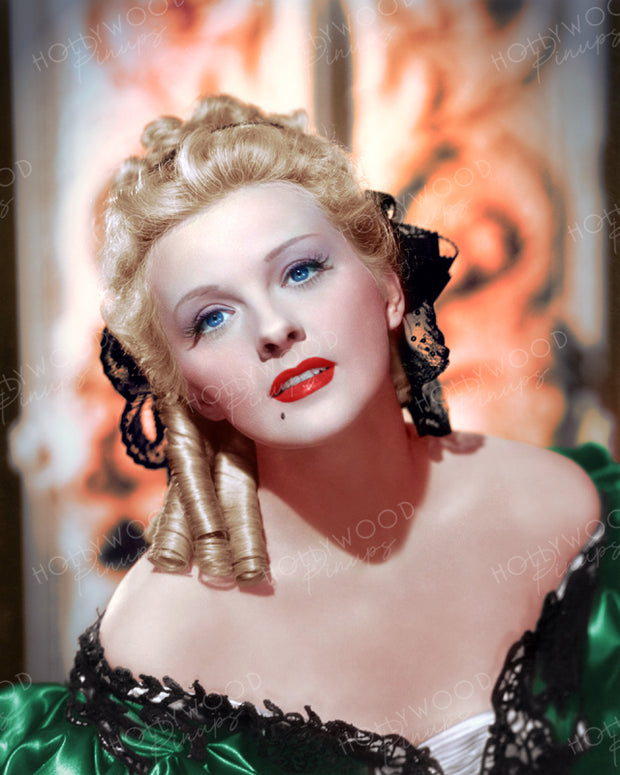 Ilona Massey by Roman Freulich 1947 | Hollywood Pinups | Film Star Colour and B&W Prints