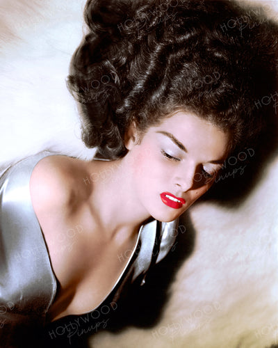 Jane Russell in THE OUTLAW 1943 | Hollywood Pinups | Film Star Colour and B&W Prints