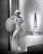 Jean Harlow DINNER AT EIGHT 1933 | Hollywood Pinups | Film Star Colour and B&W Prints