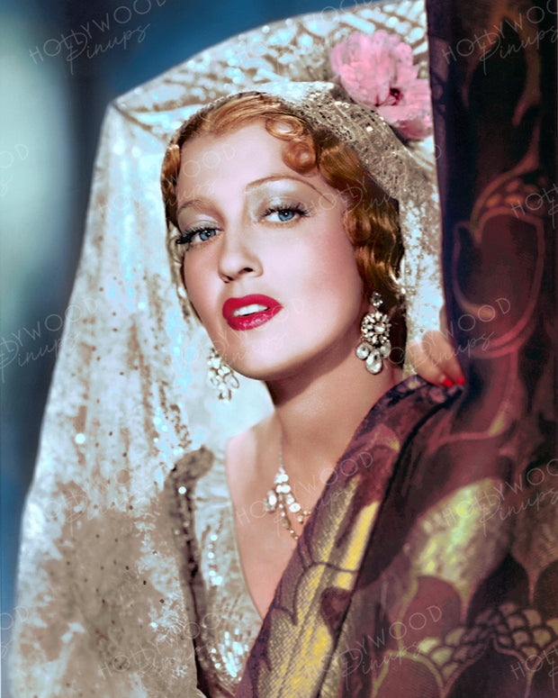 Jeanette MacDonald in THE FIREFLY 1937 | Hollywood Pinups | Film Star Colour and B&W Prints