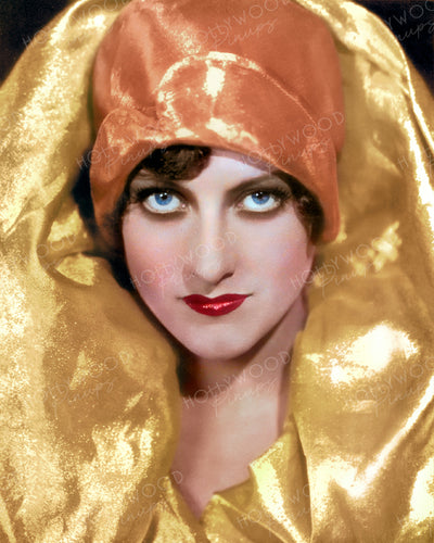 Joan Crawford Metallic Vamp 1928 | Hollywood Pinups | Film Star Colour and B&W Prints