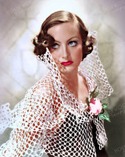 Joan Crawford Netty Lace 1934 | Hollywood Pinups | Film Star Colour and B&W Prints