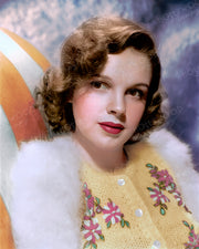 Judy Garland Fluffy Beauty 1940 | Hollywood Pinups | Film Star Colour and B&W Prints