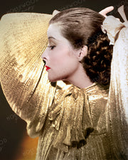 Katharine Hepburn Sparkling Profile 1935 | Hollywood Pinups | Film Star Colour and B&W Prints