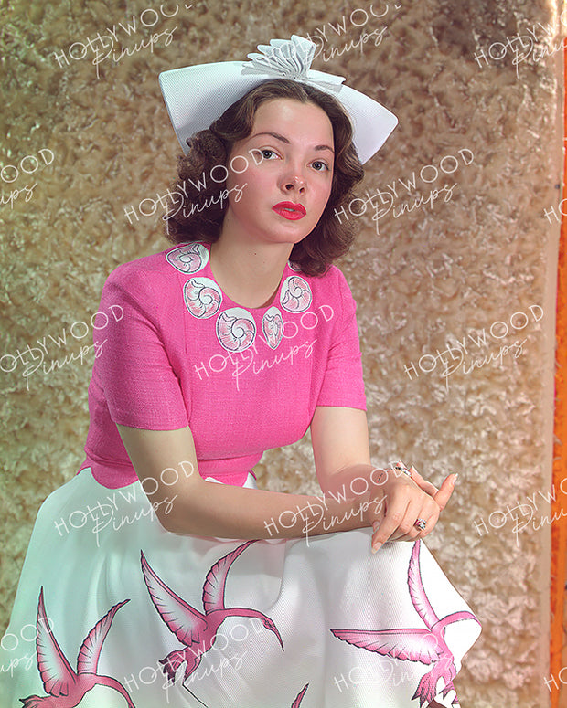 Kathryn Grayson Pretty Pink 1942 | Hollywood Pinups Color Prints