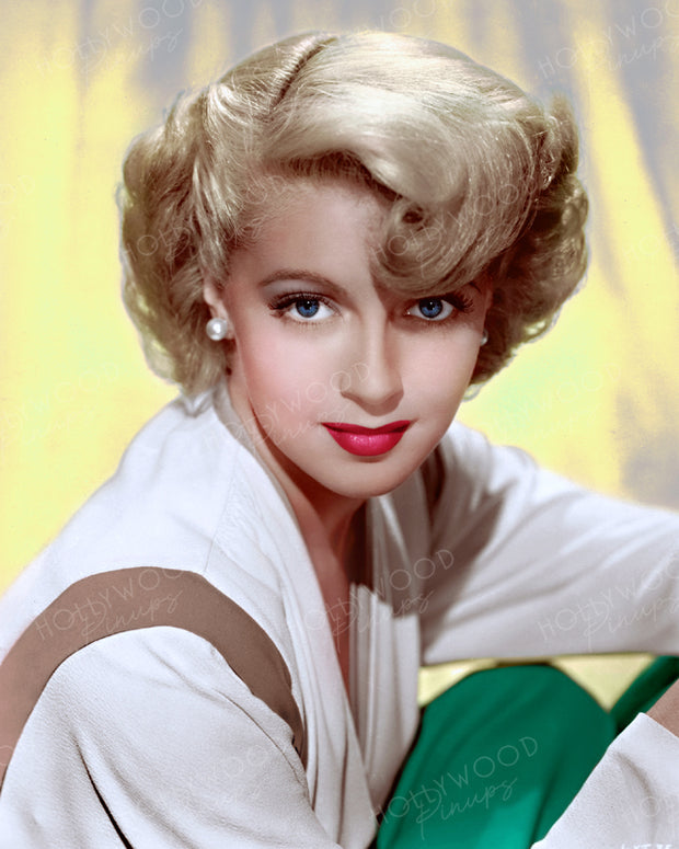 Lana Turner Blonde Wave 1943 | Hollywood Pinups | Film Star Colour and B&W Prints
