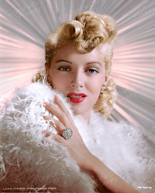 Lana Turner Glowing Star 1944 | Hollywood Pinups | Film Star Colour and B&W Prints