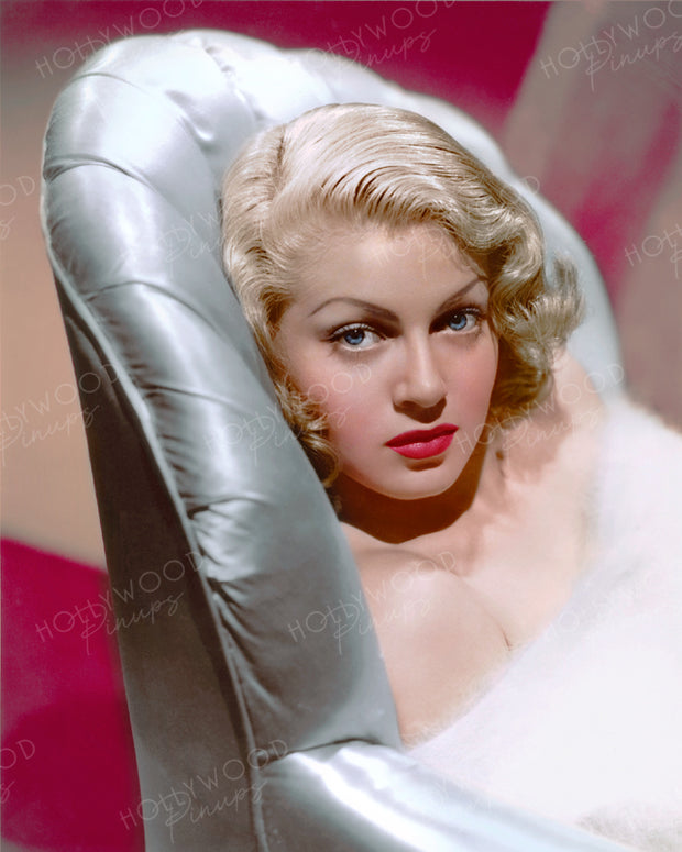 Lana Turner Sensual Siren 1941 | Hollywood Pinups | Film Star Colour and B&W Prints