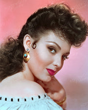 Linda Darnell Foxy Brunette 1946 | Hollywood Pinups | Film Star Colour and B&W Prints