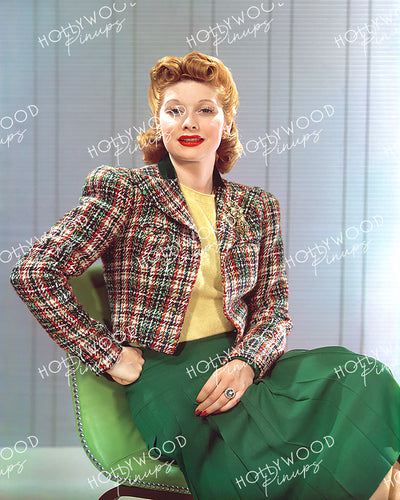 Lucille Ball Elegant Beauty 1940 | Hollywood Pinups Color Prints