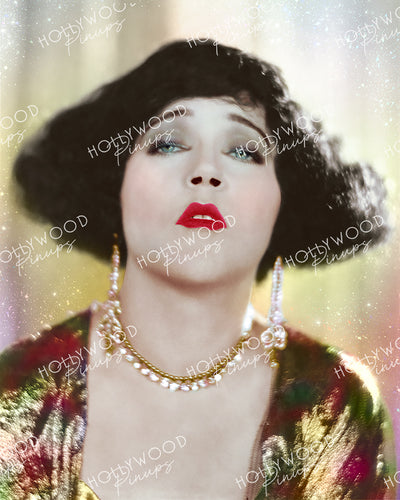 Mae Murray Shimmering Star 1923 in FASHION ROW | Hollywood Pinups Color Prints