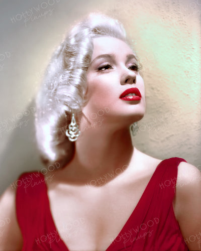 Mamie Van Doren Platinum Glamour 1955 | Hollywood Pinups | Film Star Colour and B&W Prints