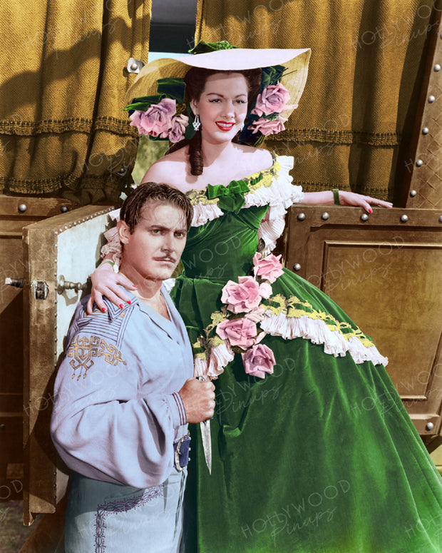 Maria Montez & Jon Hall in GYPSY WILDCAT 1944 | Hollywood Pinups | Film Star Colour and B&W Prints