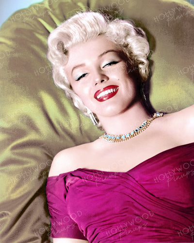 Marilyn Monroe Bedroom Eyes 1952 | Hollywood Pinups | Film Star Colour and B&W Prints