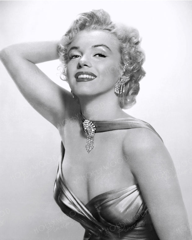 Marilyn Monroe Diamond Studded 1952 | Hollywood Pinups | Film Star Colour and B&W Prints