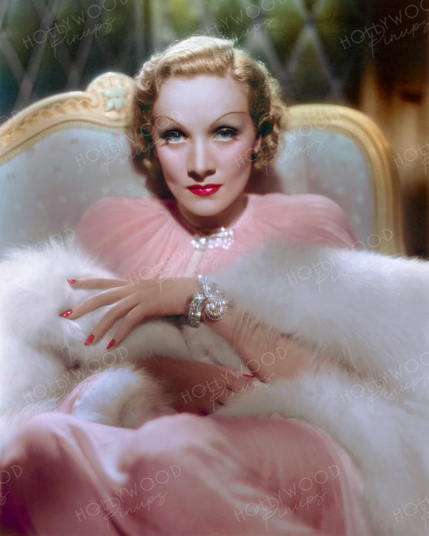 Marlene Dietrich DESIRE 1936 | Hollywood Pinups | Film Star Colour and B&W Prints
