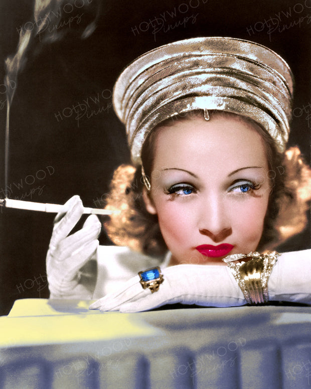 Marlene Dietrich Smoky Glamour 1939 | Hollywood Pinups | Film Star Colour and B&W Prints
