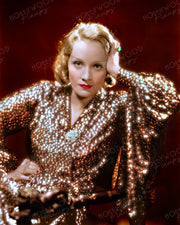 Marlene Dietrich by EUGENE RICHEE 1932 | Hollywood Pinups | Film Star Colour and B&W Prints