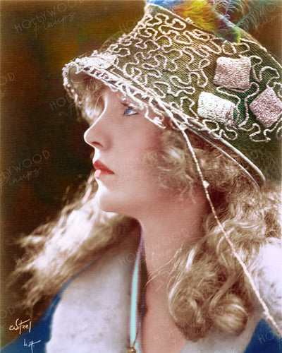 Mary Miles Minter Haunting Profile by WITZEL 1919 | Hollywood Pinups | Film Star Colour and B&W Prints