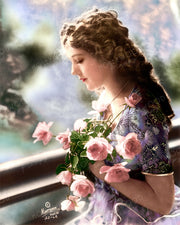 Mary Pickford Romantic Dream by HARTSOOK 1918 | Hollywood Pinups | Film Star Colour and B&W Prints