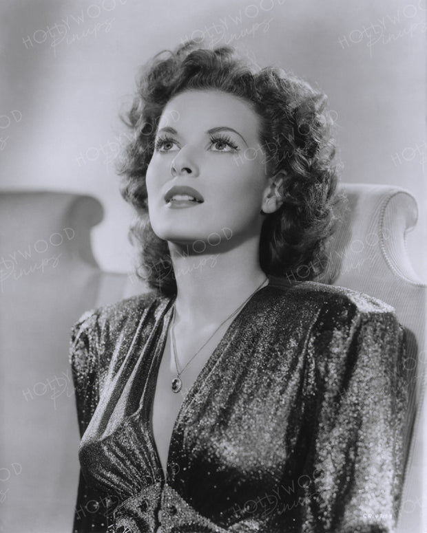Maureen O'Hara THIS LAND IS MINE 1943 | Hollywood Pinups | Film Star Colour and B&W Prints