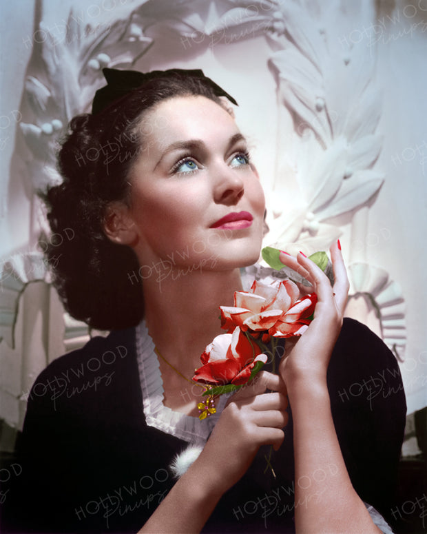 Maureen O'Sullivan by CLARENCE BULL 1937 | Hollywood Pinups | Film Star Colour and B&W Prints