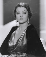 Myrna Loy Gold Elegance 1933 | Hollywood Pinups | Film Star Colour and B&W Prints