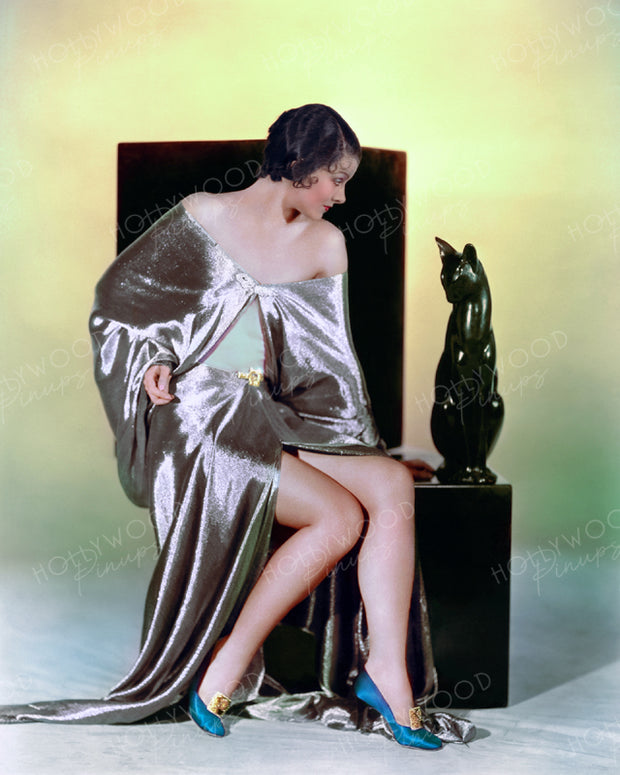 Myrna Loy Slinky Minx 1931 | Hollywood Pinups | Film Star Colour and B&W Prints