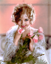 Nancy Carroll Pink Roses 1930 | Hollywood Pinups | Film Star Colour and B&W Prints