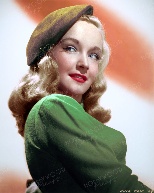 Nina Foch in MY NAME IS JULIA ROSS 1945 | Hollywood Pinups | Film Star Colour and B&W Prints