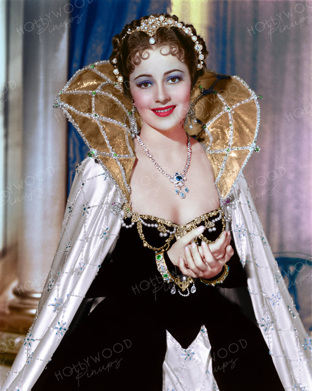 Olivia de Havilland ANTHONY ADVERSE 1936 | Hollywood Pinups | Film Star Colour and B&W Prints