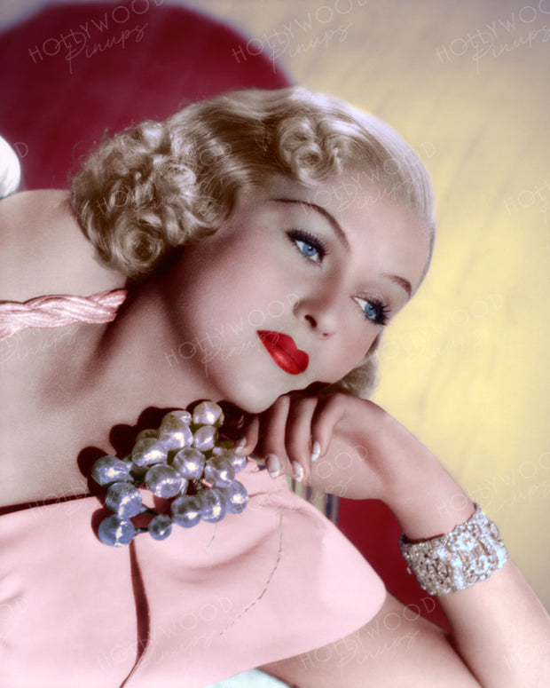 Patricia Ellis by SCOTTY WELBOURNE 1937 | Hollywood Pinups | Film Star Colour and B&W Prints