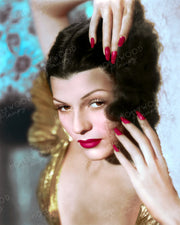 Rita Hayworth Gold Shimmer 1939 | Hollywood Pinups | Film Star Colour and B&W Prints