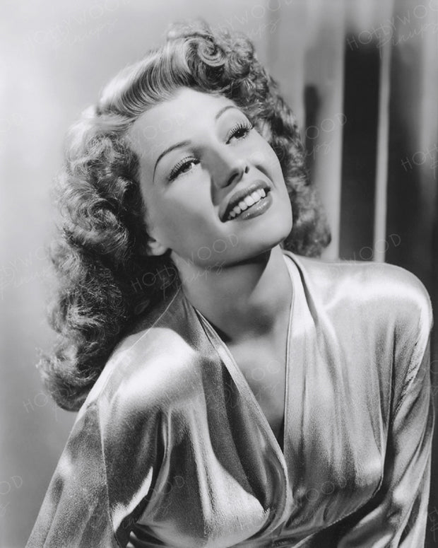 Rita Hayworth Lush Beauty 1944 | Hollywood Pinups | Film Star Colour and B&W Prints