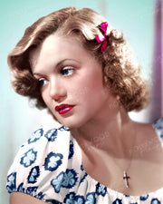 Simone Simon Dreamy Doll 1937 | Hollywood Pinups | Film Star Colour and B&W Prints