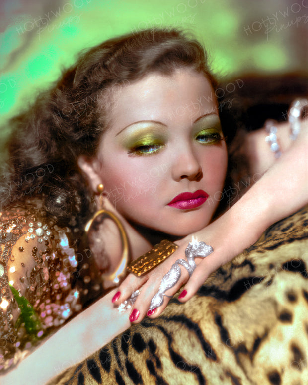 Sylvia Sidney Exotic Glamour 1933 by EUGENE RICHEE | Hollywood Pinups | Film Star Colour and B&W Prints