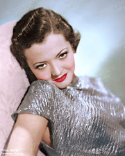 Sylvia Sidney Silver Shimmer 1934 | Hollywood Pinups | Film Star Colour and B&W Prints