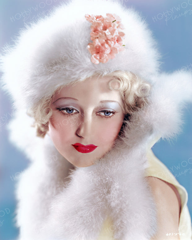 Thelma Todd in SPEAK EASILY 1932 | Hollywood Pinups | Film Star Colour and B&W Prints
