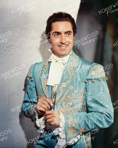 Tyrone Power in THE MARK OF ZORRO 1940 | Hollywood Pinups Color Prints