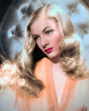 Veronica Lake Blonde Angel 1943 | Hollywood Pinups | Film Star Colour and B&W Prints